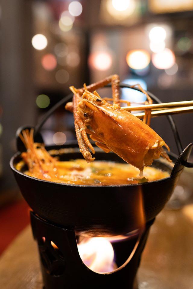 ต้มยำกุ้ง กุ้งแม่น้ำ ต้มยำ ร้านอาหารญี่ปุ่น เมนูอาหารไทย กุ้ง อาหารไทย tomyum tomyumkung
