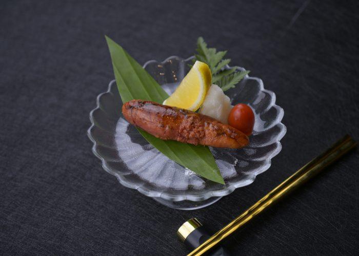 ไข่ปลาเมนไตโกะย่าง