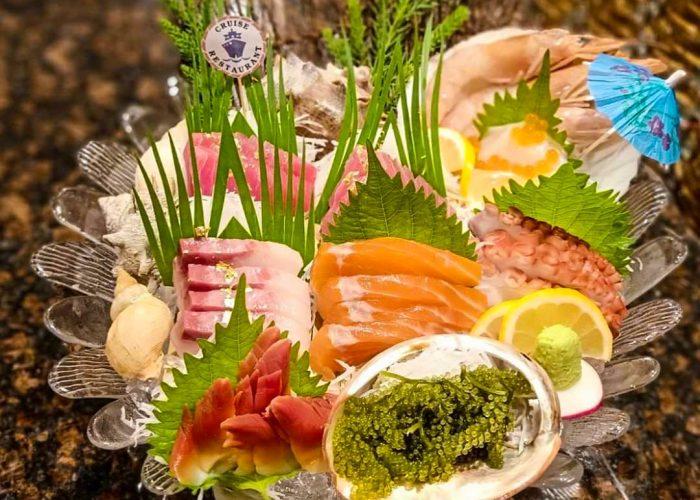 เมนูปลาดิบกินเท่าไรก็ไม่เบื่อ ที่Cruise Restaurant ร้านอาหารญี่ปุ่น ซอยธนิยะ
