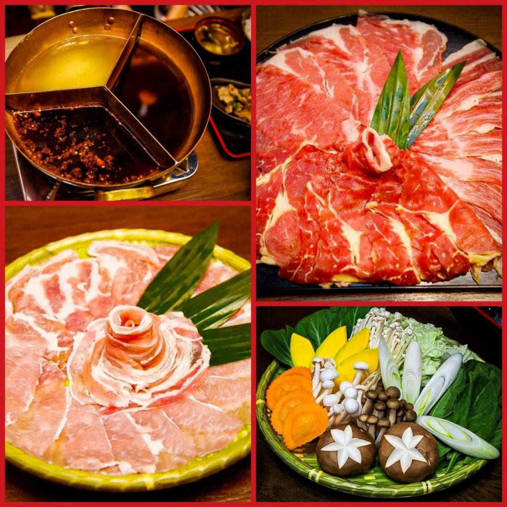 ชาบู 3 น้ำซุป ร้าน Cruise Restaurant ซอยธนิยะ ชุดเนื้อวัววากิว ชุดเนื้อหมูคุโรบุตะ ชุดอาหารทะเล น้ำซุปเห็ด น้ำซุปคอมบุ น้ำซุปหม่าล่า