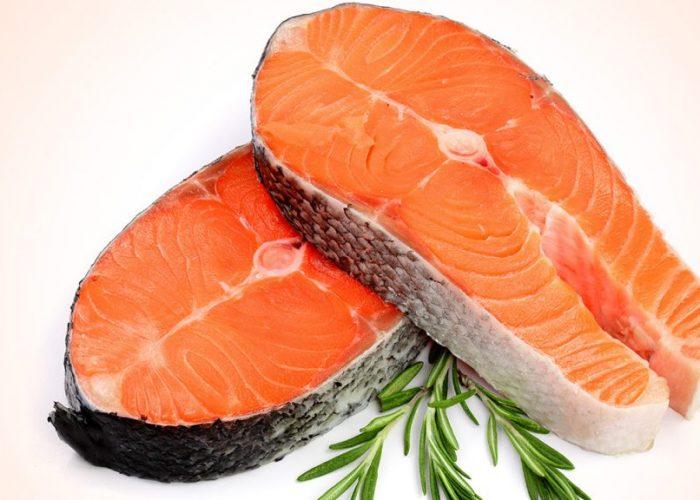 ปลาแซลมอนกับเมนูอาหารสุดเด็ด