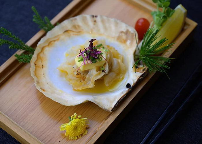 เมนูหอยที่ร้านอาหารญี่ปุ่นครูซ ถนนสีลม เรามีดีมากกว่าความอร่อย