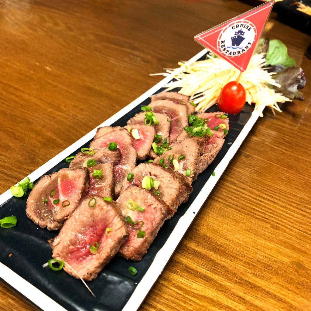 เมนูกับแกล้มน่ากิน ของร้านอาหารญี่ปุ่นครูซ อิซากายะ ซอยธนิยะ ถนนสีลม