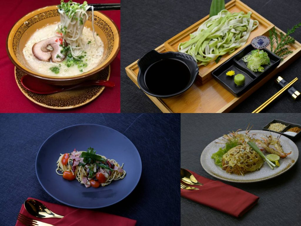ร้านอาหารญี่ปุ่นCruise Restaurant สีลม ซอยธนิยะ กับเมนูเส้นที่ต้องลอง