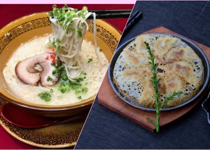 ราเมงกับเกี๊ยวซ่าทอดเมนูคู่หู คู่ร้านCruise Restaurant ศาลาแดง ซ.ธนิยะ